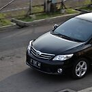 black colored toyota corolla altis by bayu harsa