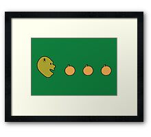 Shrek-Man Framed Print