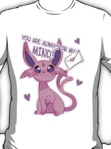 Espeon Love T-Shirt