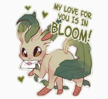 Leafeon Love Kids Clothes