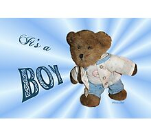 Take Me Along With You ~ Teddy Bear  Photographic Print