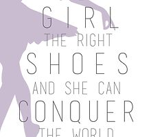 Shoes Marilyn Monroe Quote by Dalal Semprun