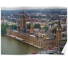 Parliament : Taken from the London Eye Poster