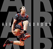 Aaron Gordon - Air Gordon V2, Black by hermitcrab