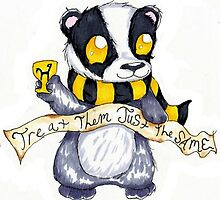 Hufflepuff Badger by nutella-fandom