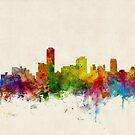 Adelaide Australia Skyline by Michael Tompsett