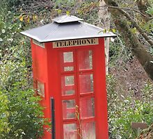 The Big Red Phone Box by ScenerybyDesign