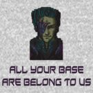 aybabtu all your base are belong to us t shirt by deanworld