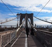 New York Brooklyn Bridge nr 1 by silvianeto