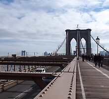 New York Brooklyn Bridge nr 2 by silvianeto