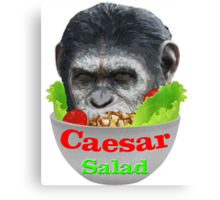 Caesar Salad Canvas Print