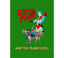 captain planet and the planeteers shirt Photographic Print