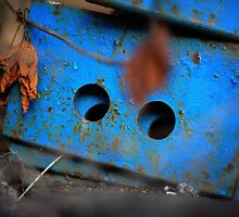 rusty-blue 1 by Astrid Driesen