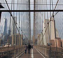 New York Brooklyn Bridge nr 5 by silvianeto