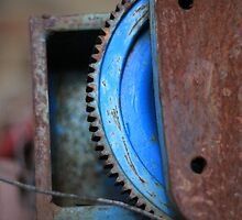 rusty-blue 2 by Astrid Driesen