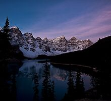 First Light on Moraine Lake  by Ian Houghton
