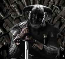 Throne of Dovahkiins Sticker