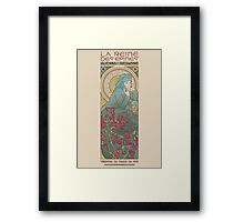 The queen of thorns Framed Print