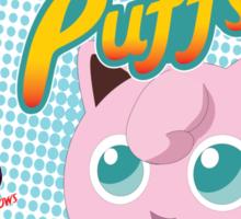 Jiggly Puffs Sticker