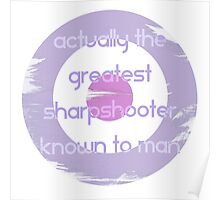 Actual Greatest Sharpshooter||Kate Bishop Poster