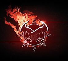 League of Legends Draven Logo Design by Extraqt