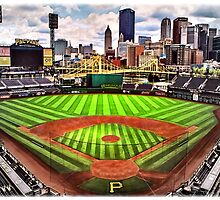 "PNC Park - ""Home of the Pittsburgh Pirates"" by SteelCityArtist"