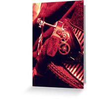 Steampunk Ladies Hat 2.1 Greeting Card