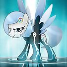 Google Chrome / Tron: Legacy My Little Pony by broniesunite