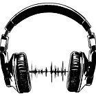 Headphones - Black by wallyhawk