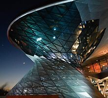 BMW Welt: Night Vision by Kasia-D