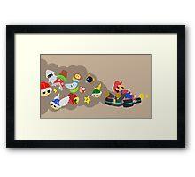 Mario Kart Item fury  Framed Print
