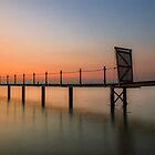 Sunset Pier by manateevoyager