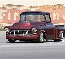 1956 Chevrolet Custom Pickup by DaveKoontz