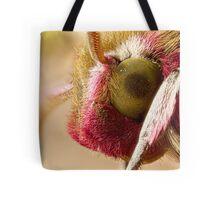 Elephant Hawk moth eye Extreme macro Tote Bag