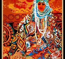 Ethnic woman by Linda Arthurs