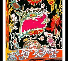 Carpet fragment by Linda Arthurs
