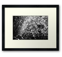 chaos of bokeh Framed Print