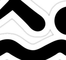 Swimmer icon Sticker