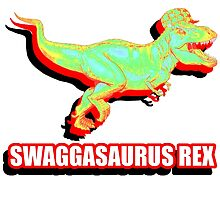 Swaggasaurus Rex by NotaCat