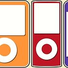 Apple iPod Lineup by Rachel Mansell