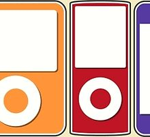 Apple iPod Lineup by Rachel Mansell