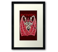 The Tyranid Hive Tyrant - Devour Framed Print