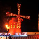 The Windmill of Moulin Rouge by cullodenmist