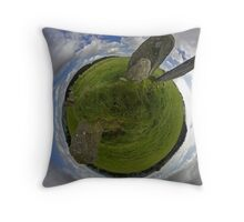 Beltany Stone Circle, Donegal Throw Pillow