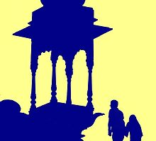Mughal Silhouette by lamiel