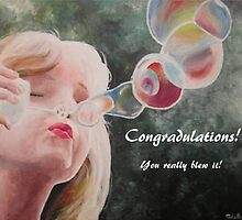 Congradulations, You really blew it! by Adelle Hoyt