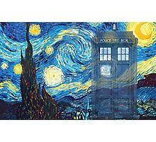 The Doctor and Vincent Photographic Print