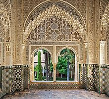 Daraxa's Mirador, Nasrid Palaces, The Alhambra, Granada, Spain by TonyCrehan
