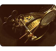 Steampunk Gentlemen's Hat 2.0 Photographic Print