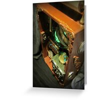 Steampunk Backpack 3.1 Greeting Card